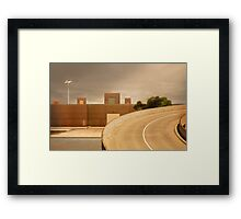 factory expressway Framed Print