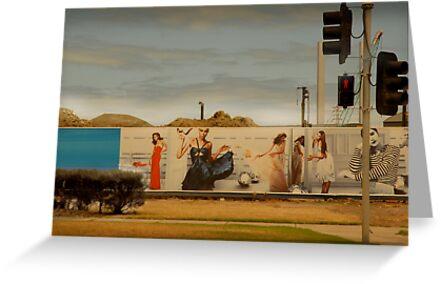 traffic lights by Paul Vanzella