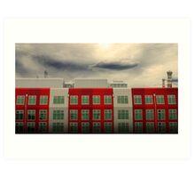 MFB Building 3 Art Print