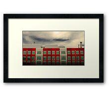 MFB Building 3 Framed Print