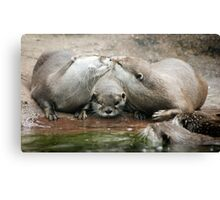 My First Kiss Canvas Print