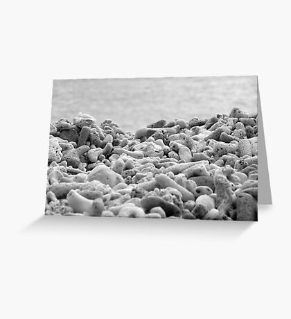Blue Pearl Bay Coral Greeting Card