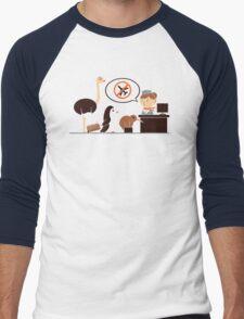 The No-Fly List Men's Baseball ¾ T-Shirt