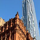 The old with the new, New York City  by Alberto  DeJesus