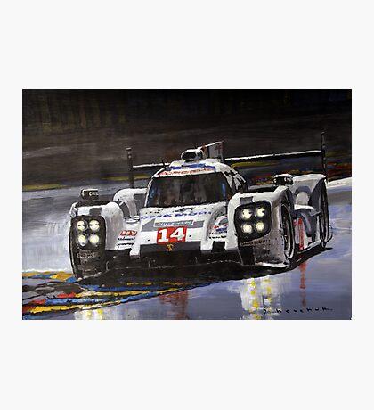 2014 Le Mans 24 Porsche 919 Hybrid  Photographic Print