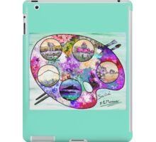 Sicily on a palette. iPad Case/Skin