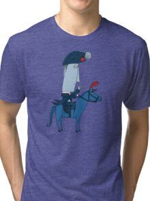 Napoleon and his Horse Tri-blend T-Shirt
