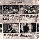 Horror Storyboards by Evan F.E. Lole