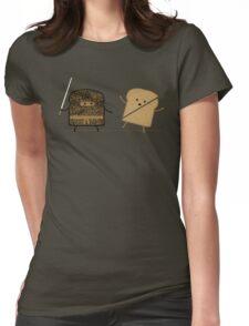 Ninja Toast Womens Fitted T-Shirt