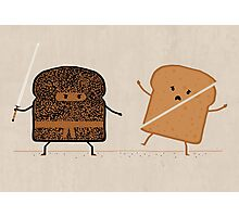 Ninja Toast Photographic Print