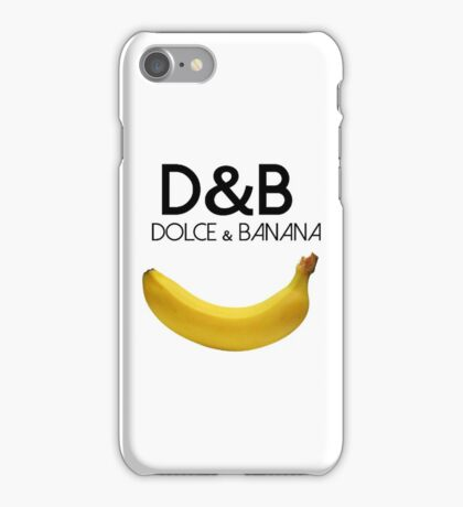 Dolce and Banana iPhone Case/Skin