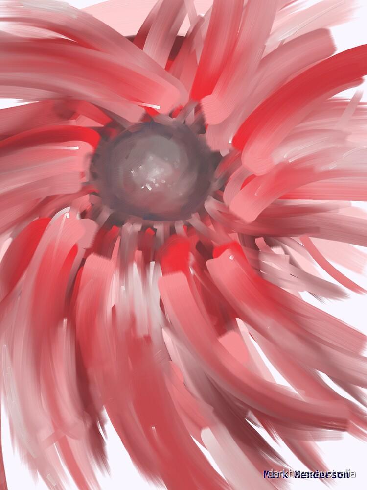 Flower - oil on canvas by darkhorseaustralia