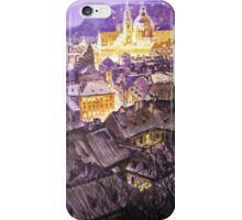Prague Mala Strana  Night Light  iPhone Case/Skin