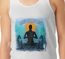 Meditation is Listening to Divine Within Tank Top