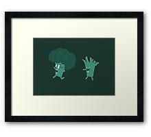 So Many Brains! Framed Print