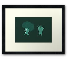 So Many Brains! Framed Print