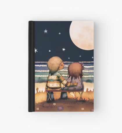 the stars, the moon and the tide Hardcover Journal