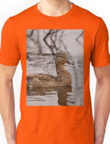 Swimming Duck Unisex T-Shirt