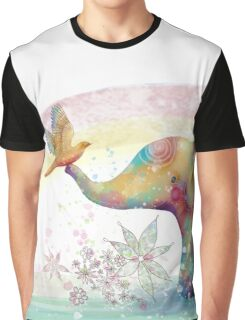 The Indigo Elephant Graphic T-Shirt