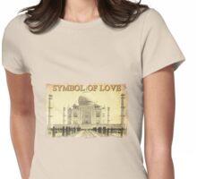 Taj Mahal (Symbol of Love) Womens Fitted T-Shirt