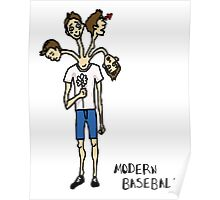 Modern Baseball // Stages of Love Poster