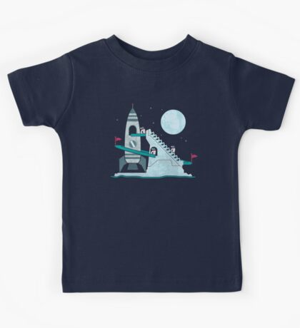Penguin Space Race Kids Tee