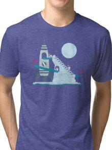 Penguin Space Race Tri-blend T-Shirt