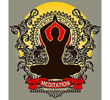 Meditation brings wisdom Photographic Print
