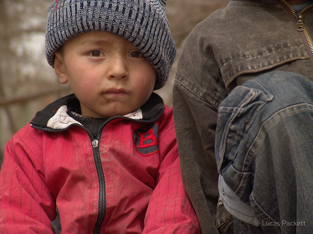 Kashgar, Young Uyghur Boy by Lucas Packett