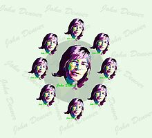 John Denver ~ Pop Art #3 by vdezine