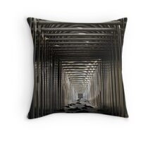 Infinity stack- Baracades stacked for the night-Seoul Throw Pillow
