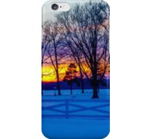 SCENIC SNOW SUNSET iPhone Case/Skin