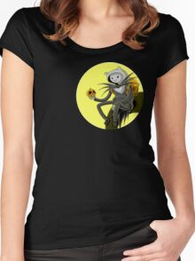 HalloweenTime Women's Fitted Scoop T-Shirt