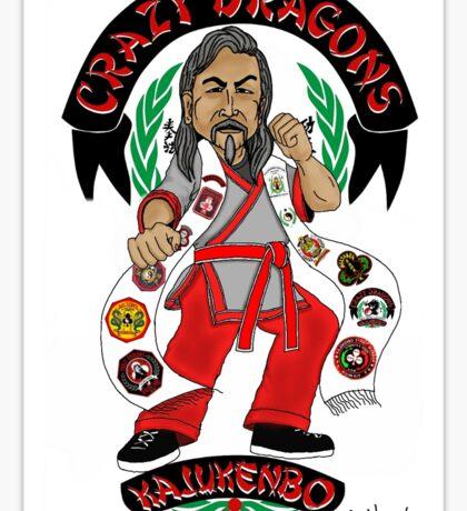Lagera Caricature - Sifu Agustin Saltares Sticker