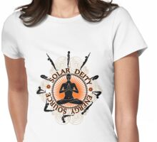 Surya Namaskar Womens Fitted T-Shirt