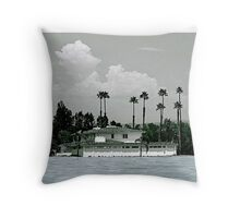 Abandoned Oasis Throw Pillow