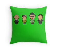 Breaking Bad characters Throw Pillow