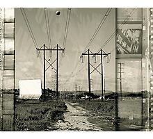 Drive-in Saturday Photographic Print