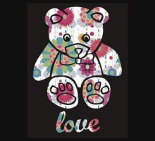 Cuddly Teddy Bear Kids Tee