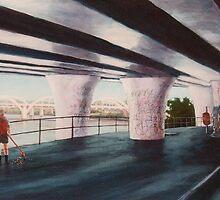 Under The Freeway - Brisbane 1991 by Cary McAulay