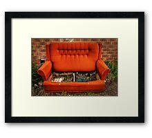 Couch Potato Farm Framed Print