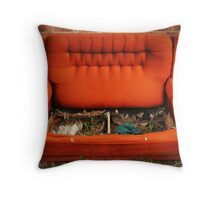 Couch Potato Farm Throw Pillow