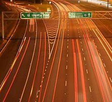fast lane by Scott Sandars