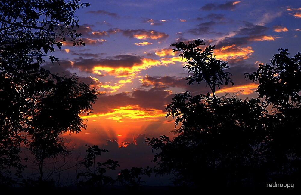 Maymyo sunset by rednuppy