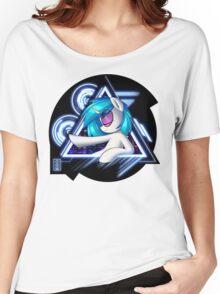Dj Pon3 - Vinyl Scratch City Lights Women's Relaxed Fit T-Shirt