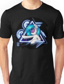 Dj Pon3 - Vinyl Scratch City Lights Unisex T-Shirt