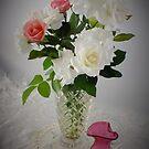 Roses and Crystal by sandysartstudio
