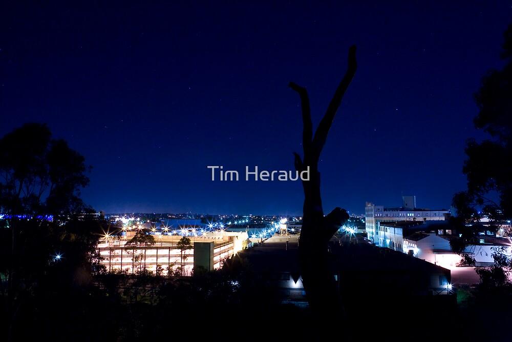 Abbotsford by night by Tim Heraud