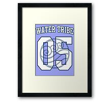 Water Tribe Jersey #05 Framed Print