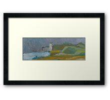 seahouses Framed Print